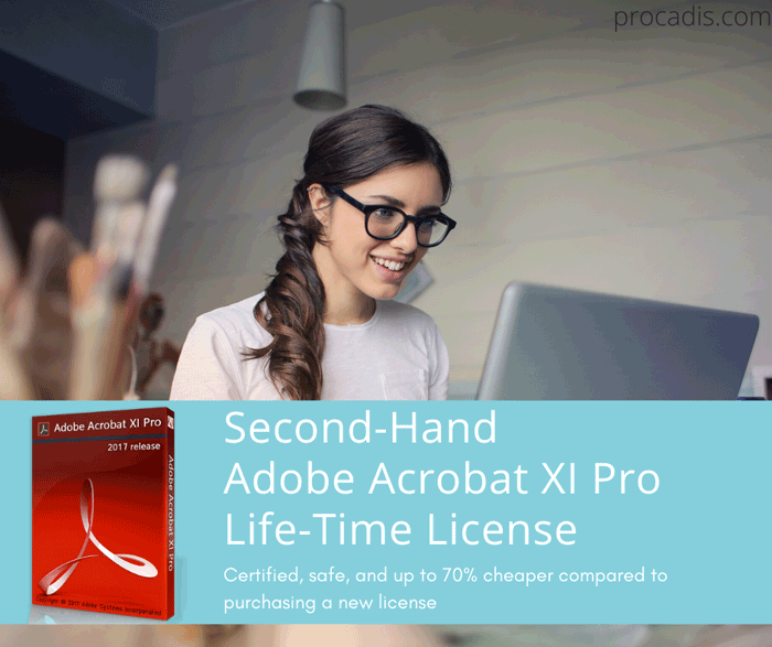 Second-Hand Acrobat 11 pro License